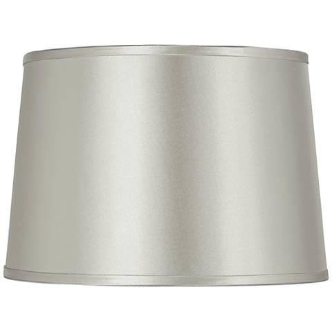 Hardback White Drum Paper Lamp Shade 15x16x11 Spider