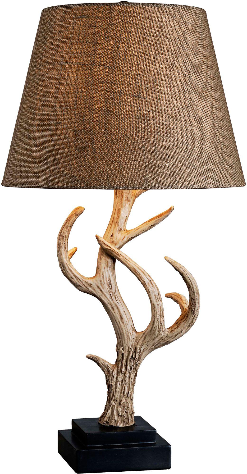 Kenroy Home Buckhorn Antler Table Lamp