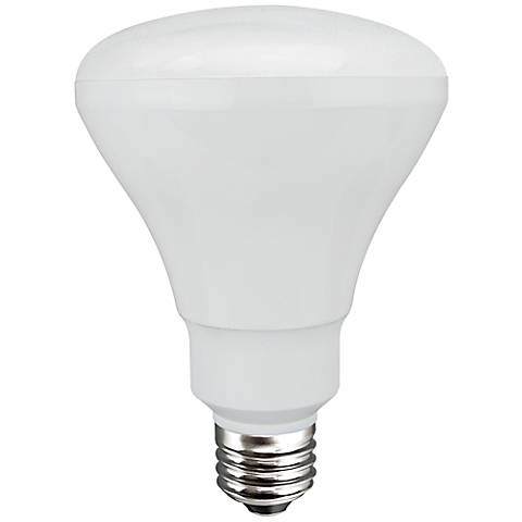 Connected 10 Watt LED BR30 Medium Base Light Bulb