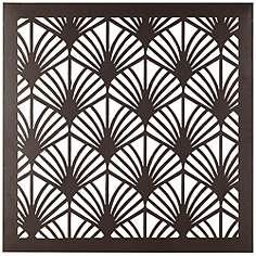 Square Metal Wall Art 30 in. to 39 in., contemporary, metal wall art, wall art | lamps plus