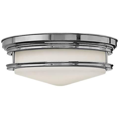 "Hinkley Hadley 20"" Wide Chrome Ceiling Light"