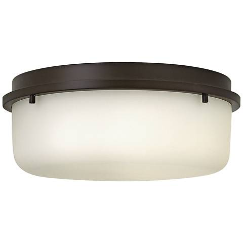 "Hinkley Turner 13"" Wide Oil-Rubbed Bronze Ceiling Light"