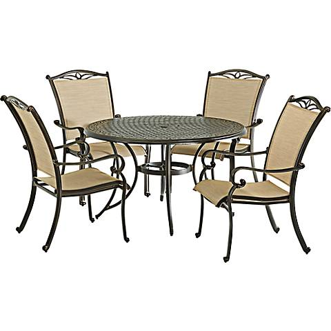 "Monarch Pointe 48"" Round Outdoor Dining Table"