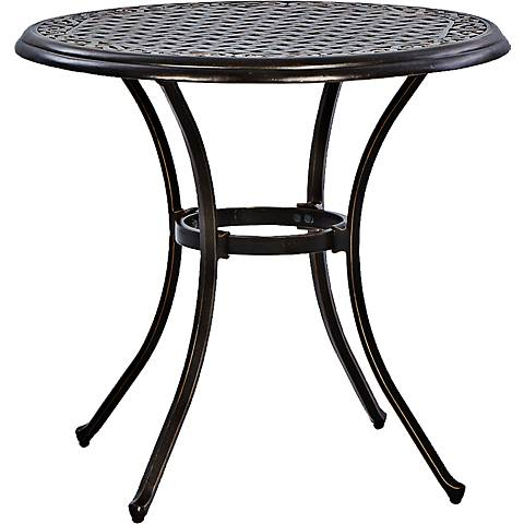 """Monarch Pointe 30"""" Round Outdoor Dining Table"""