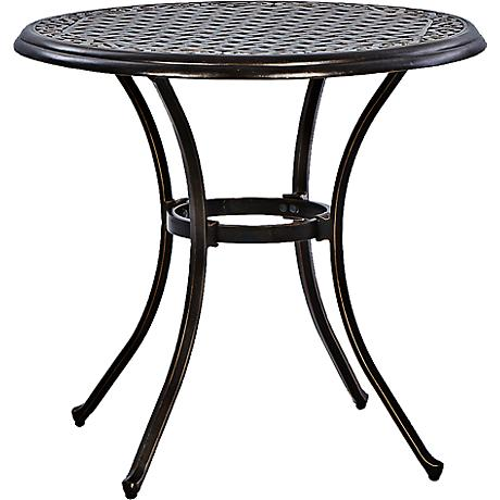 "Monarch Pointe 30"" Round Outdoor Dining Table"