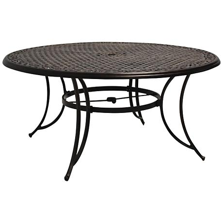 "Monarch Pointe 60"" Round Outdoor Dining Table"