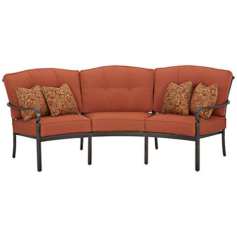 Riviera Bronze Outdoor 3-Seat Sofa