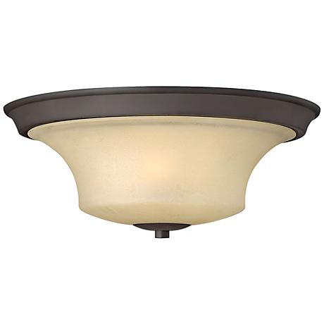 "Hinkley Brantley 17"" Wide Oil Rubbed Bronze Ceiling Light"