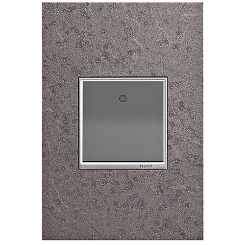 Hubbardton Forge Natural Iron 1-Gang Wall Plate w/ Paddle Switch