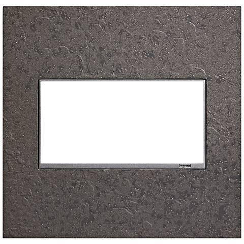 Hubbardton Forge Natural Iron 2-Gang Wall Plate