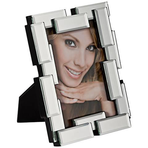 Daisetta Mirrored Block 5x7 Photo Frame