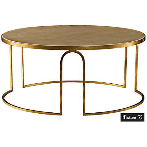 Remix bannister rectangular cocktail table 1w503 lamps plus - Table de nuit art deco ...