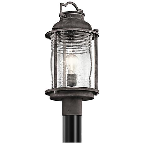 Kichler Ashland Bay 19 High Zinc Outdoor Post Light 8j731 Lamps Plus