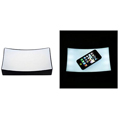 Touch Lamp Warm White LED Battery-Powered Light-Up Valet