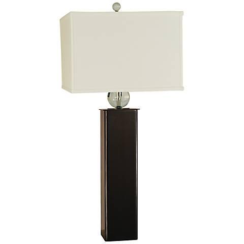 Thumprints Addison Mahogany Bronze Table Lamp