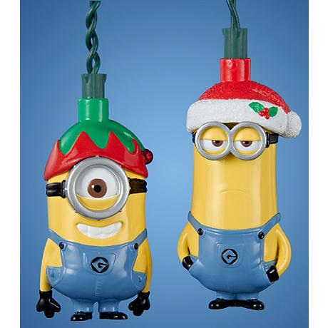 Stuart and Kevin Holiday 10-Light Despicable Me String Light