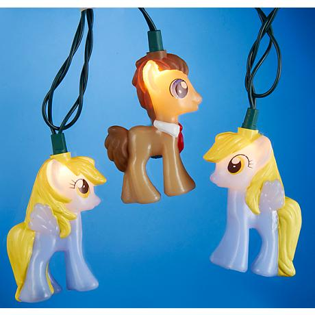 Time Turner and Muffin My Little Pony 10-Light String Light
