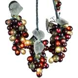 Multicolor 100 Micro-Bulb 5-Cluster Grapevine String Light