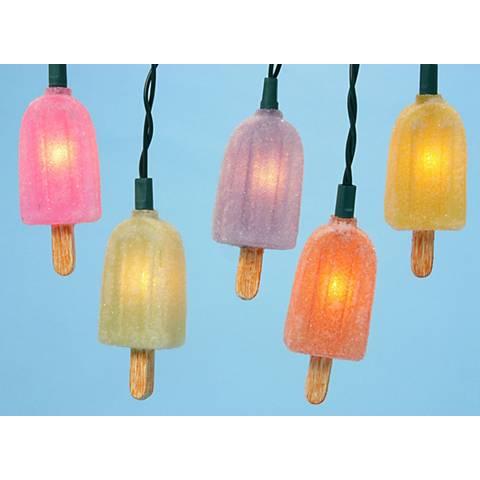 Multicolor Popsicle Novelty 20-Light String Light