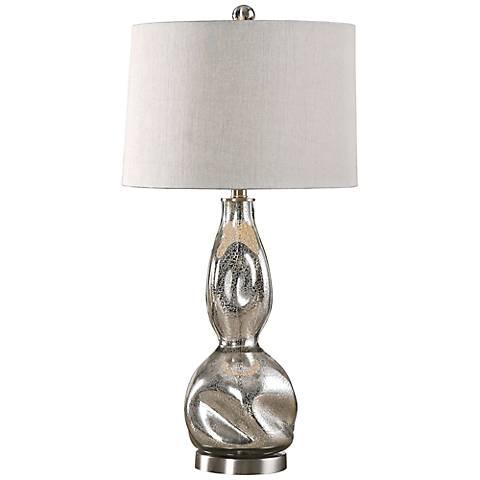 uttermost dovera mercury glass table lamp 8k079 lamps. Black Bedroom Furniture Sets. Home Design Ideas
