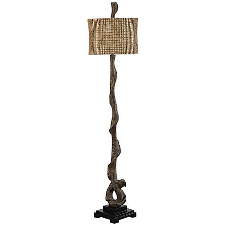 Uttermost Weathered Driftwood Floor Lamp