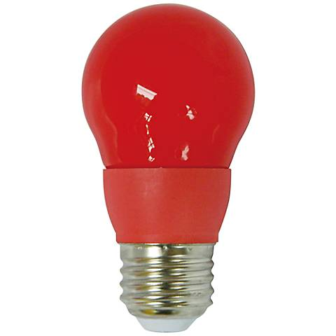 Cyber Tech Red 5 Watt A15 LED Party Light Bulb