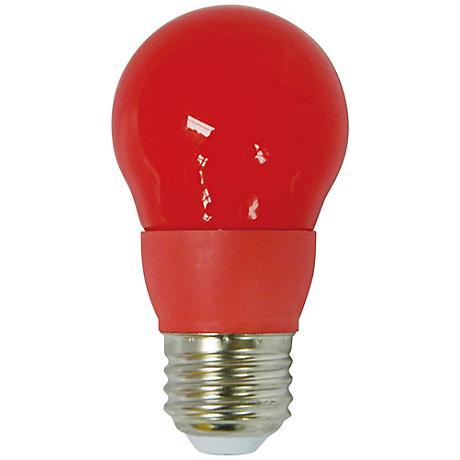 Cyber Tech Red 5 Watt A15 LED Party Light Bulb