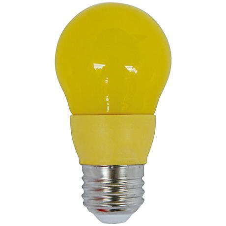 Cyber Tech Yellow 5 Watt A15 LED Party Light Bulb