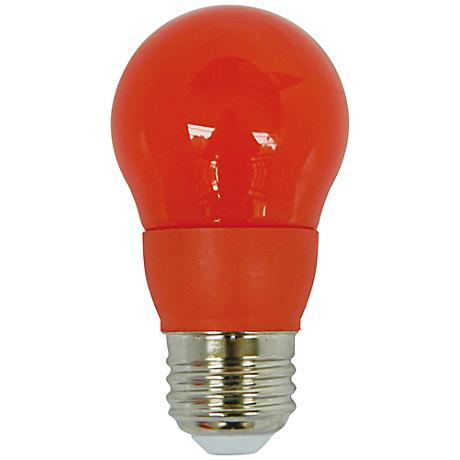 Cyber Tech Orange 5 Watt A15 LED Party Light Bulb
