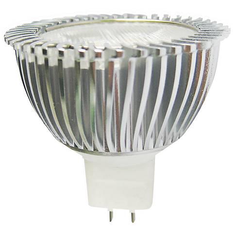 Cyber Tech Red 3 Watt 12 Volt GU5.3 MR16 LED Light Bulb