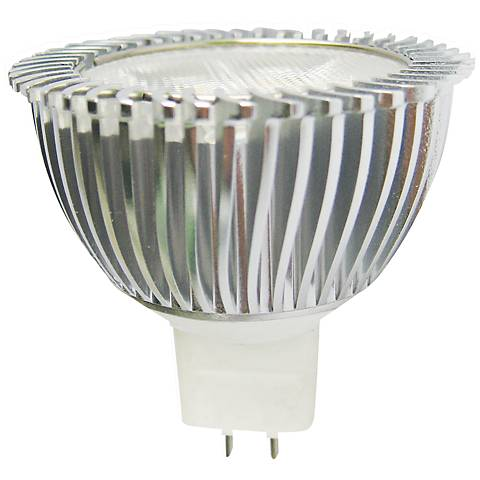 25W Equivalent 3W LED Non-Dimmable GU5.3 MR16 Green Bulb