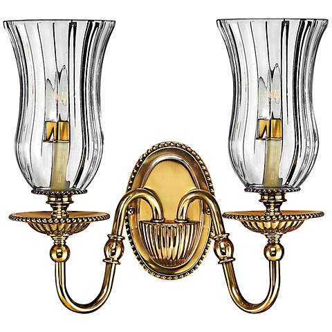 "Hinkley Cambridge 14""H Burnished Brass Wall Sconce"