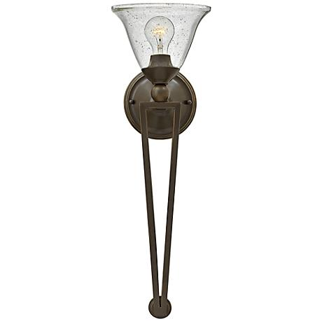 """Hinkley Bolla 26"""" High Olde Bronze Wall Sconce"""