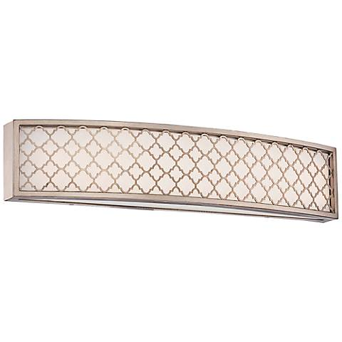 "Westwood Court 23 1/2"" Wide LED Champagne Gold Bath Light"