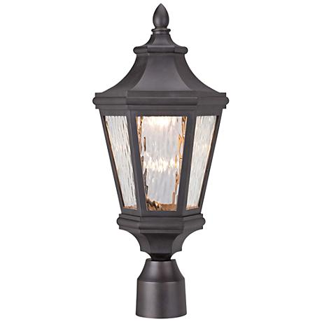 Dusk To Dawn Post Light Outdoor Lighting Lamps Plus