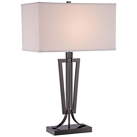 George Kovacs Jonathan Gun Metal Table Lamp