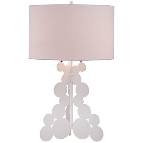 George Kovacs Karmen White Table Lamp