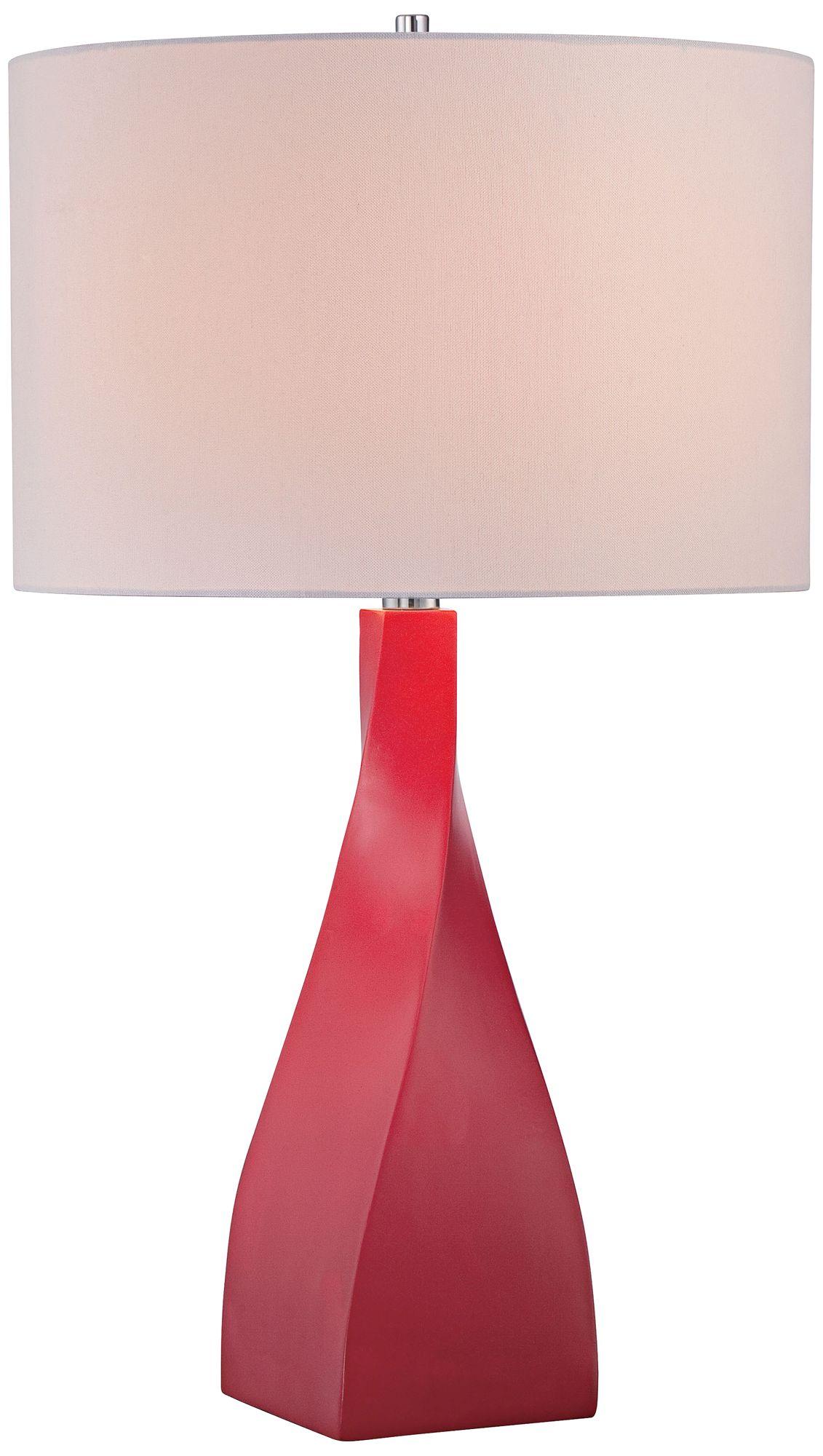 George Kovacs Hansen Red Table Lamp