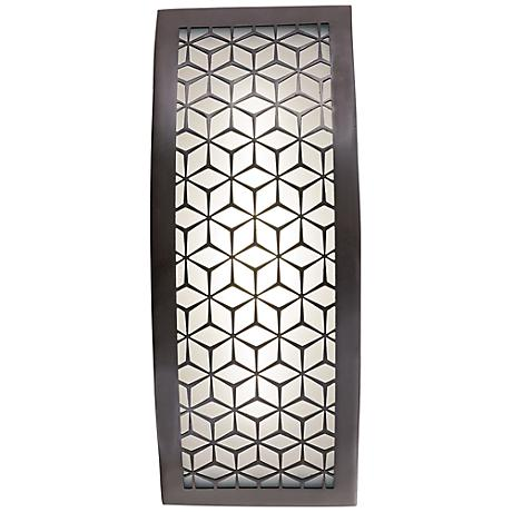 "George Kovacs Copula 13"" High LED Outdoor Wall Light"