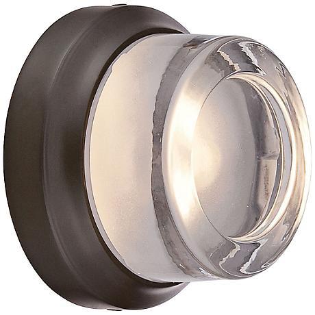 """George Kovacs Comet 5"""" High Bronze LED Outdoor Wall Light"""