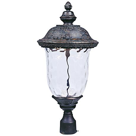 """Maxim Carriage House 12 1/2"""" Wide LED Outdoor Post Light"""