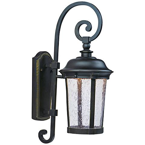 "Maxim Dover 21"" High Bronze LED Outdoor Wall Light"