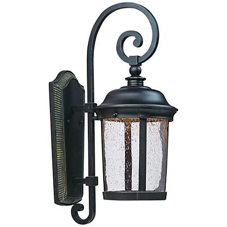 "Maxim Dover 25 1/2"" High Bronze LED Outdoor Wall Light"