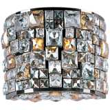 "Maxim Fifth Avenue 9""H Jeweled Luster Bronze Wall Sconce"