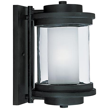 """Maxim Lighthouse 13"""" High Anthracite Outdoor Wall Light"""
