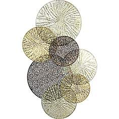 Gold Wall Art Awesome Gold Metal Wall Art Wall Art  Lamps Plus Design Inspiration