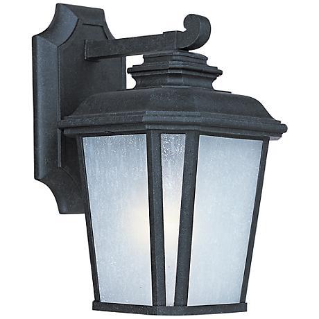 "Maxim Radcliffe 11 1/4""H Black Oxide Outdoor Wall Light"