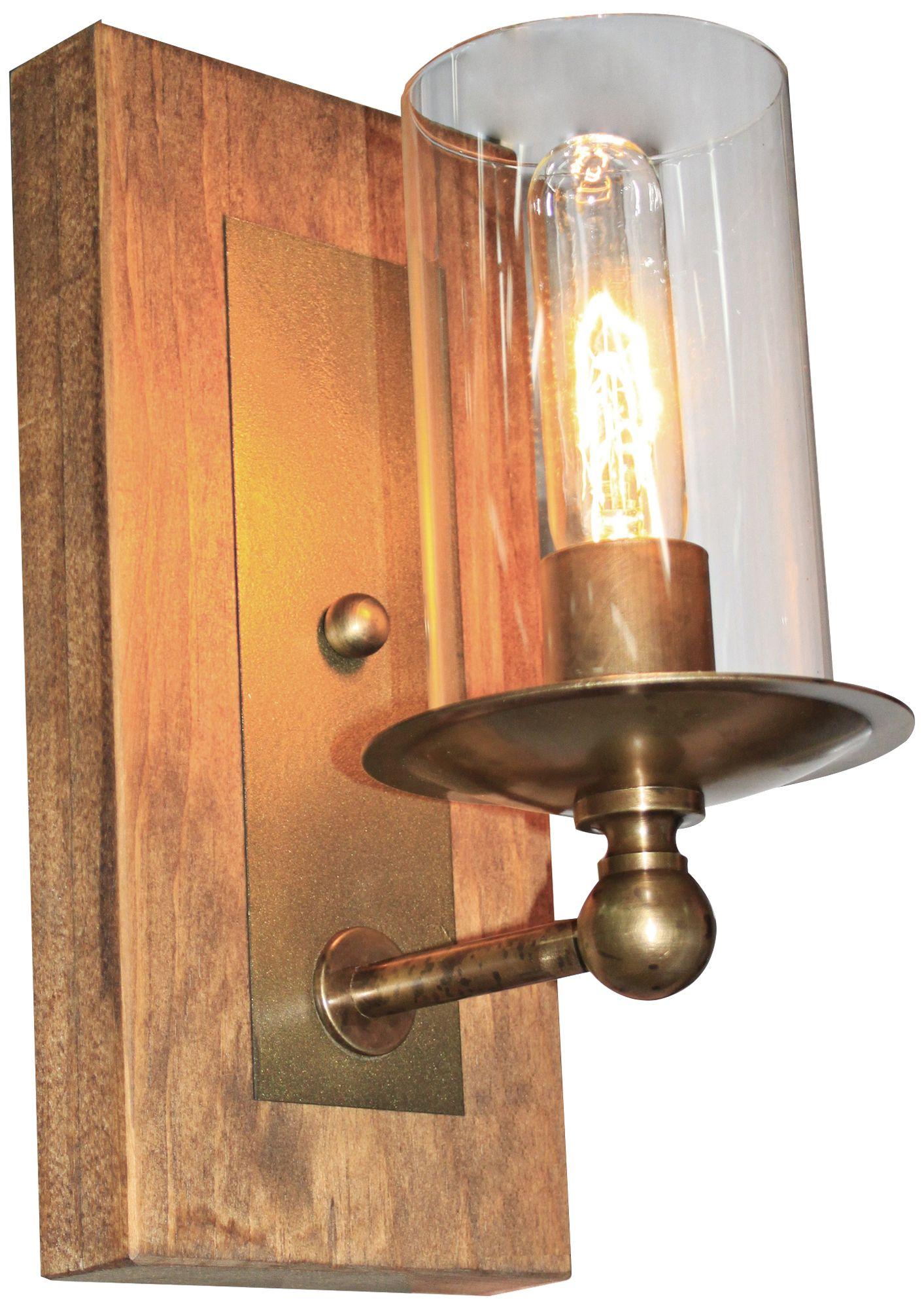 Artcraft Legno Rustico 12  High Light Pine Wall Sconce  sc 1 st  L&s Plus & Artcraft Legno Rustico 12