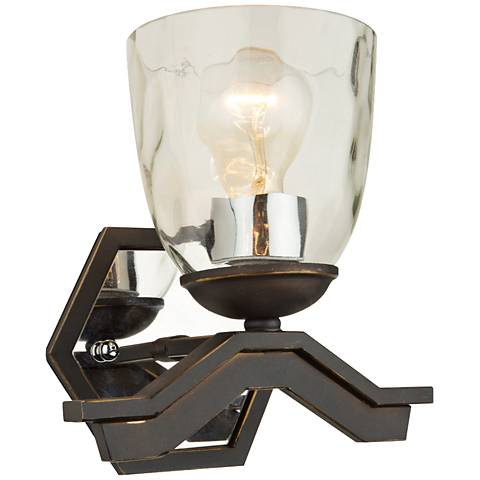"Artcraft Kent 9"" High Oil-Rubbed Bronze Wall Sconce"