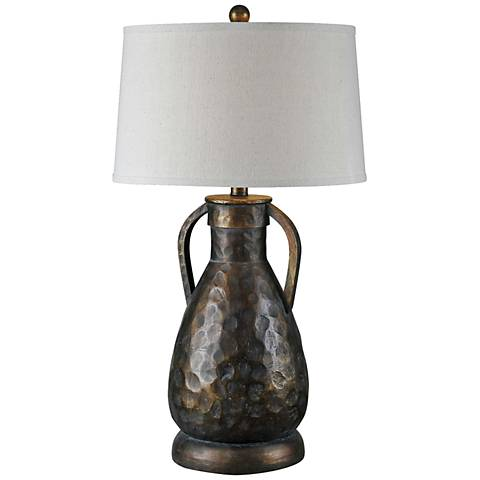 Blake Bronze Metallic Jug Table Lamp